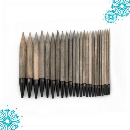 Wood needles