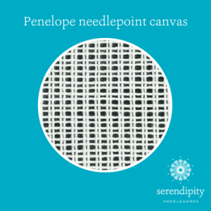 Penelope canvas, also called duo canvas, has a similar structure to mono canvas.