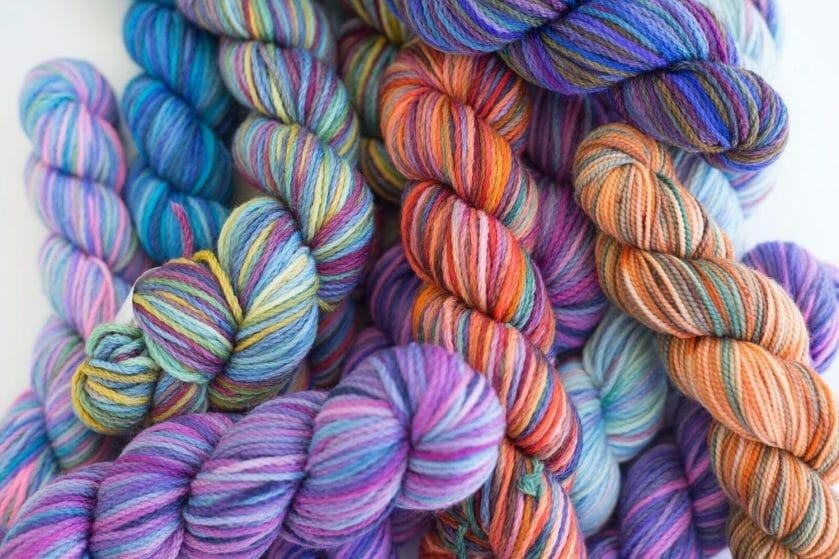 yarn bundles