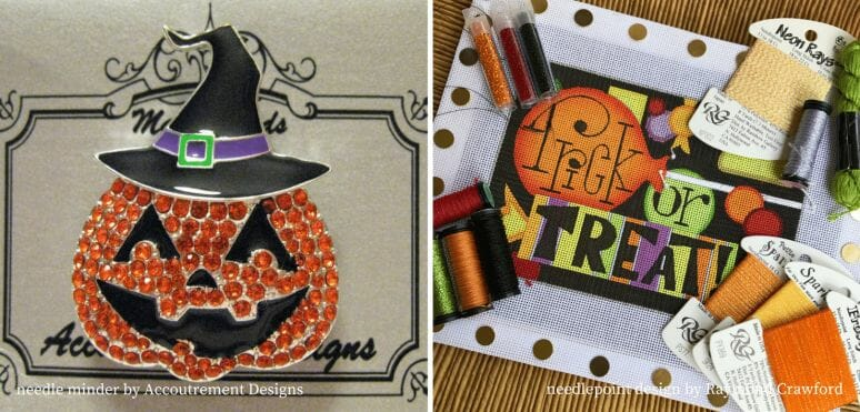 Match a needle minder to your next needlepoint project!