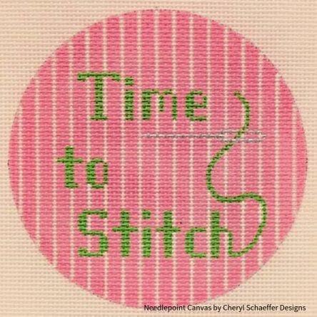 """Time to Stitch"" by Cheryl Schaeffer Designs"
