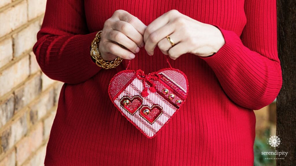 Hearts for Hospice began as a service project for the Greater Kansas City Needlepoint Guild.