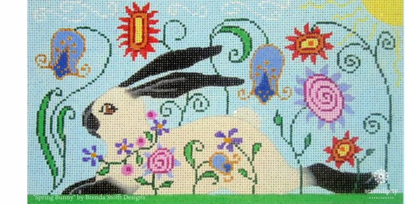 Loop stitches are a terrific way to add texture, movement, and perspective to your needlepoint projects.