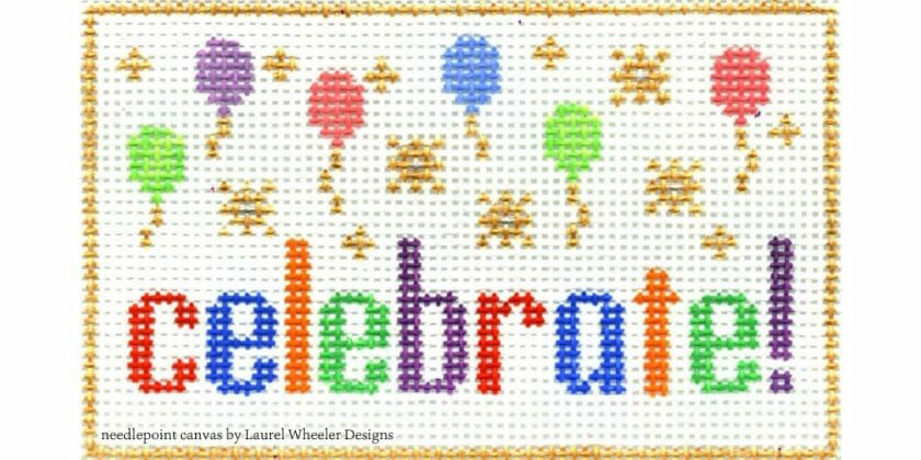 Let's celebrate National Needlepoint Month with the 2020 Stitch Challenge!
