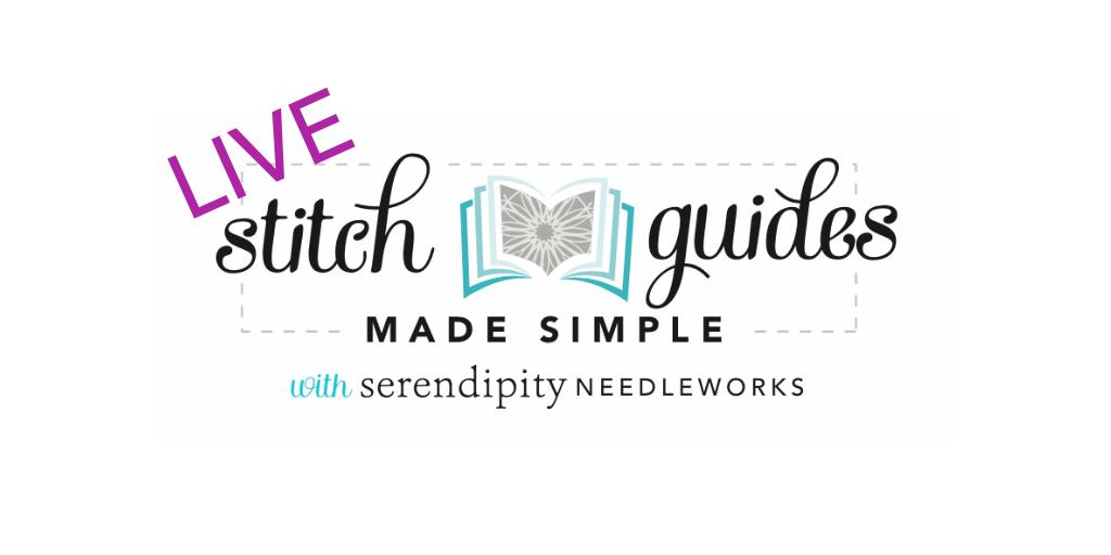 Stitch Gudes Made Simple LIVE!™ - a needlepoint workshop with Ellen Johnson