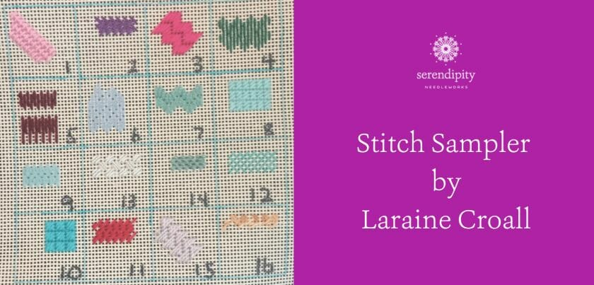 Making stitch samplers is a terrific way to get extra practice when learning new stitches.