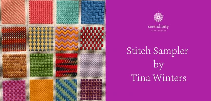 A scrapbook of stitch samplers from the 2020 Stitch Challenge...