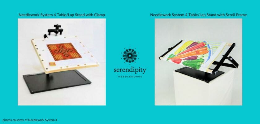 Needlework System 4 Table/Lap Stands