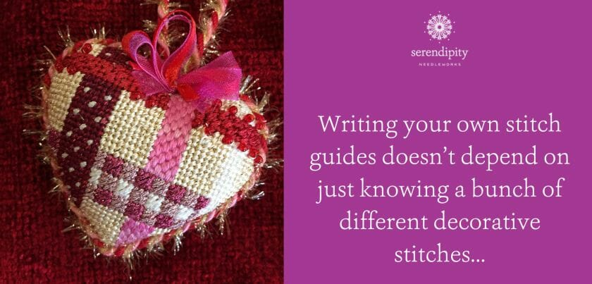 Learn how to use the Stitch Guide Formula in The Stitcher's Club!