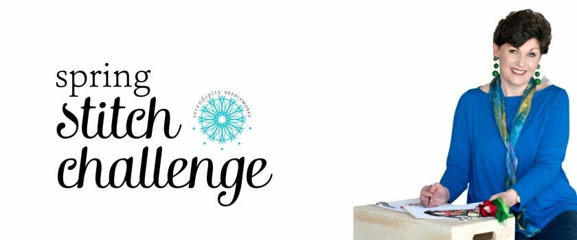 Join me for the Spring Stitch Challenge!