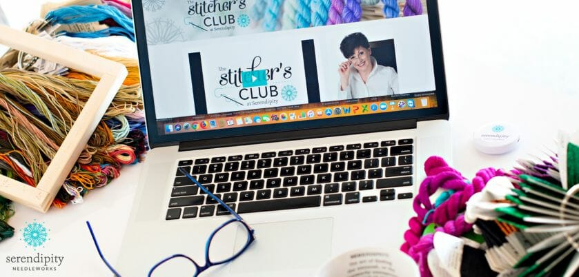 The Stitcher's Club is an online resource center for all things needlepoint.