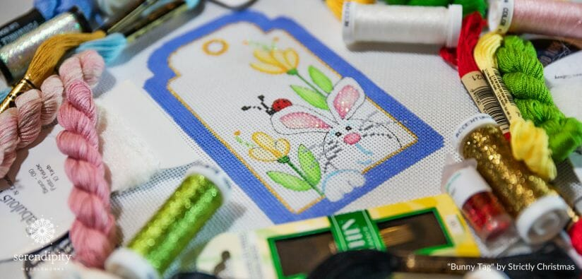 Hand painted needlepoint designs are one of many different types of needlepoint.